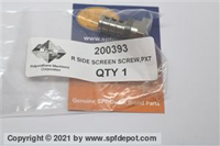 PMC PX7 R Side Filter Screw