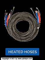 High Pressure, Heated Hose, 3500 psi