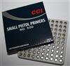 INNESCHI CCI 500 SMALL PISTOL PRIMERS 0014 (100pz)