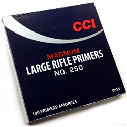 INNESCHI CCI MAGNUM 250 LARGE RIFLE PRIMERS 15EU