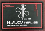 GAC PATCH IN PVC CON VELCRO