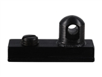HARRIS ADATTATORE PER BIPIEDE  #6 Stud for European Rails 3/8 Width Black