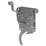 Jewell Scatto / Rifle Trigger Remington 700, With Upper Safety, Bolt Release, Right Hand - Stainless Steel