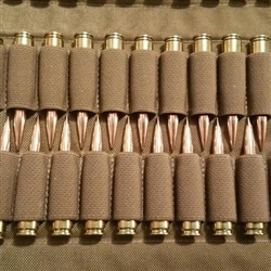 TAB GEAR Long Action Bullet Binder 20 colpi (Coyote Brown)