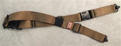 TAB GEAR Regular Sling (Fastex Buckles) with Flush Cup Swivel Attachments Coyote Brown