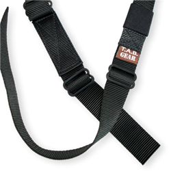TAB GEAR Regular Sling (Fastex Buckles) No Swivel Attachments Green