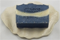 Tea Tree & Orange soap with Activated Charcoal and Luffa