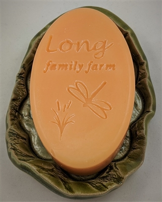 All Things Summer soap in a dragonfly mold