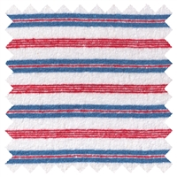 <B>ORDER#: CA-K1B-P3C1</B> <BR>55% Hemp, 45% Organic Cotton Jersey, Red/White/Blue stripes - Weight: 6.5 oz Width: 68""