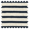 <B>ORDER#: CA-K3-STRIPE</B> <BR>55% Hemp, 45% Organic Cotton Jersey Navy Stripes - Weight: 6.2 oz. Width: 52""