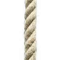 <b>ORDER#: HR12</b> <br>100% Hemp Rope 12mm (1/2 inch)