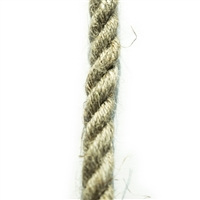 <b>ORDER#: HR8</b> <br>100% Hemp Rope 8mm (1/3 inch)