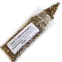 <B>ORDER#: SEED-04 SAMPLE</B> <BR>Chinese Hemp Fiber Planting Seed,  ChinMa Variety, Sample Portions