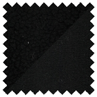 <B>ORDER#: SHERPA-BLK</B> <BR>80% Recycled Polyester, 20% Hemp Sherpa Dyed Black - Weight: 10 oz. Width: 59""