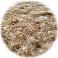 "<B>ORDER#: SPI</B> <BR>92% Hemp, 8% Polyester Fiber Insulation Sample, 7.5"" x 6"" x 6"""