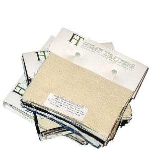 <B>ORDER#: SPL</B> <BR>Hemp Fabric Swatch Book