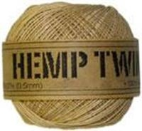 <B>ORDER#: TWINEBALL-0.5MM</B> <BR>100% Hemp Twine, .5mm