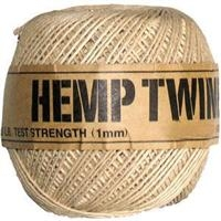 <B>ORDER#: TWINEBALL-1MM</B> <BR>100% Hemp Twine, 1mm