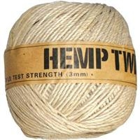 <B>ORDER#: TWINEBALL-3MM</B> <BR>100% Hemp Twine, 3mm