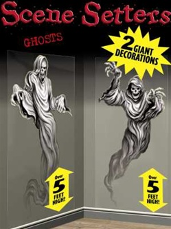 Ghosts Wall Cling - Decoration