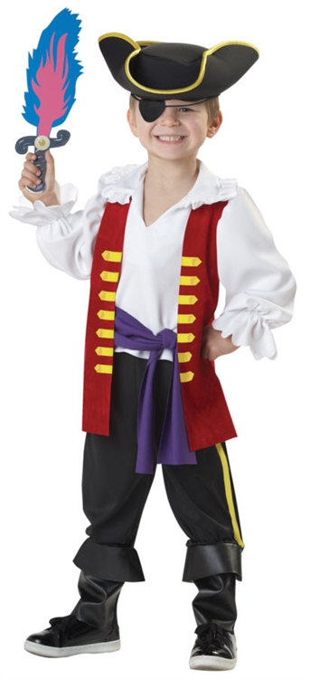 Alternative Views  sc 1 st  SpookShop & Captain Feathersword Toddler Halloween Costume - the Wiggles