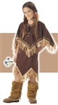 Child Princess Wildflower Girls Costume - Indian