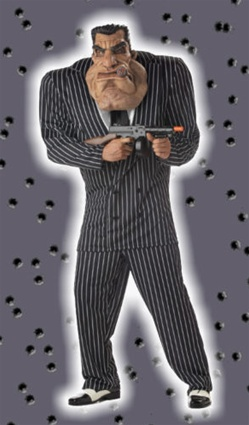 Mens Massive Mobster Costume