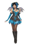 Sexy Blue Fairy Costume