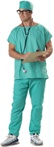ER Scrubs -  Adult Doctor Costume