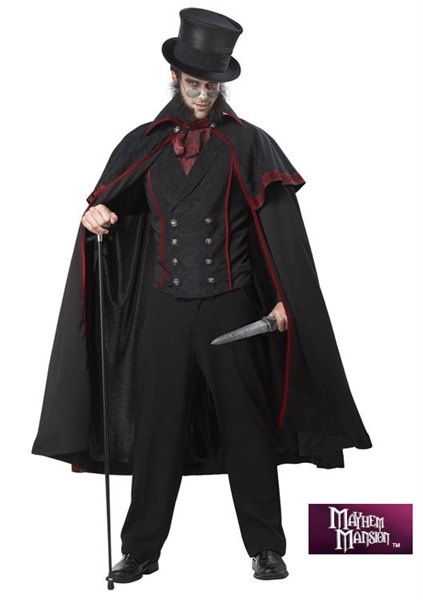 Gothic Jack the Ripper Costume