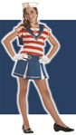 Tween Sassy Sailor Girls Costume