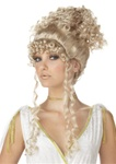 Womens Blonde Athenian Goddess Wig
