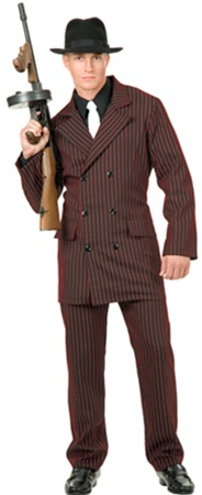 Gangster Costume - Adult