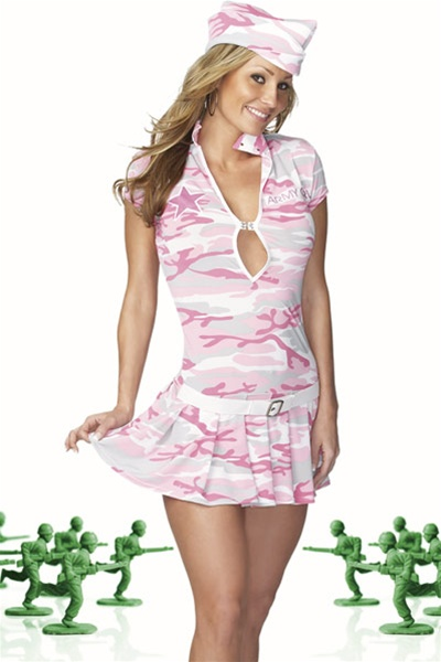 Pink Army Costumes-7218