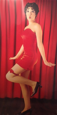 Classic Betty Boop Costume - Red Dress