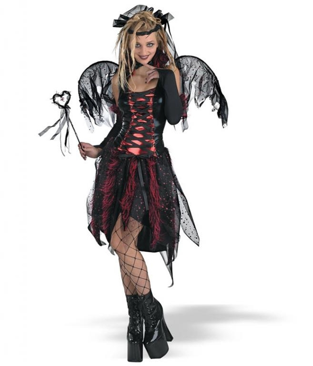 Costume goth halloween teen more
