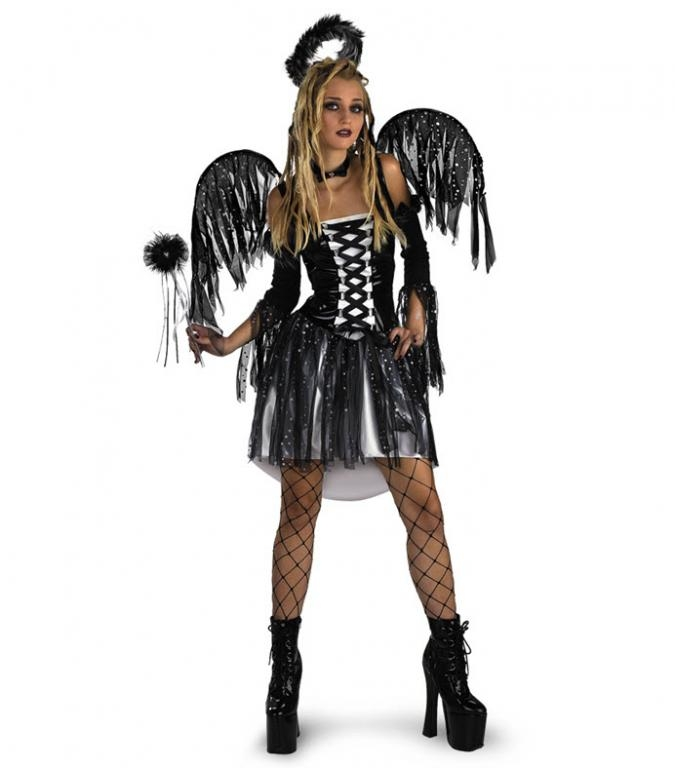 Sexy dark angel costumes