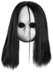 Blank Eyes Black Doll Mask