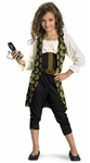 Licensed Child Angelica Pirate Costume from Pirates of the Caribbean