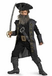Licensed Black Beard Child Costume from Pirates of the Caribbean