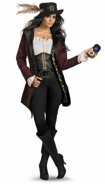 Licensed from Disney's Pirate of the Caribbean - Angelica Prestige Costume