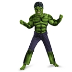Boys Hulk Muscle Costume