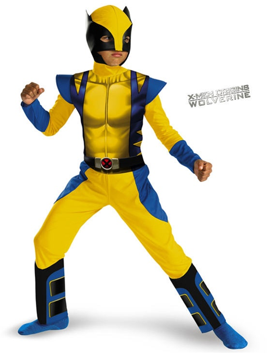 Alternative Views  sc 1 st  SpookShop & Kid Wolverine Costume - X-Men - Halloween