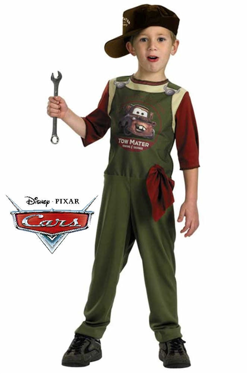 Alternative Views  sc 1 st  SpookShop & Cars Tow Mater Mechanic Costume