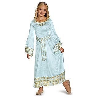 Kids Deluxe Blue Aurora Dress