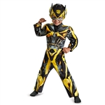 Toddler Bumblebee Muscle Costume