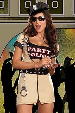 Sexy Party Police Costume