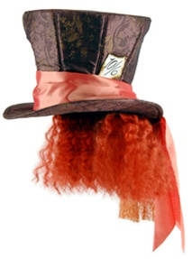 Alice in Wonderland Mad Hatter Hat