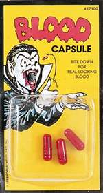 Blood Capsules - Theatrical