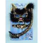 Deluxe Cat Mask, Collar and Tail Accessory Set